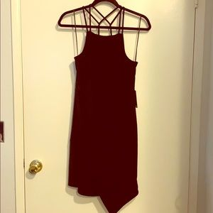 Black express dress with tags (never worn)